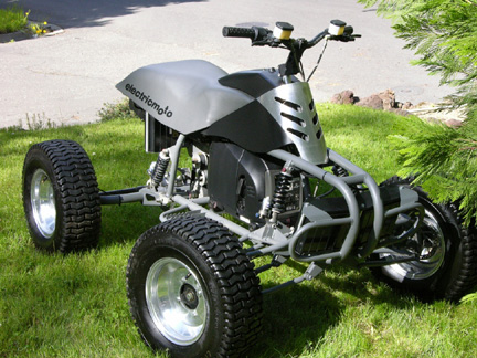 Thundercat 1000   Speed on 2005 Quad Ihybrid