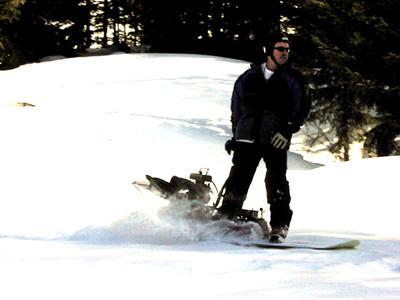 Powerboard Motorized Snowboard